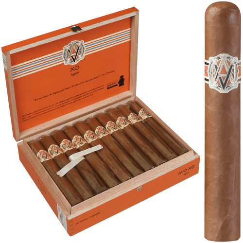 AVO Cigars XO Legato Toro 20 Ct. Box 6.00X54