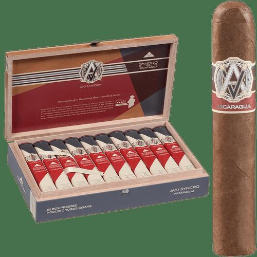 AVO Cigars Syncro Nicaragua Robusto Tubos 20 Ct. Box 5.00x50