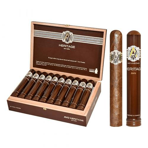 AVO Cigars Heritage Toro Tubos 20 Ct. Box 6.00X50