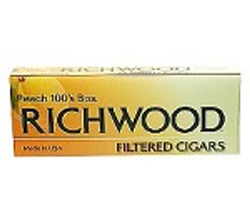 Richwood Filtered Cigars Peach