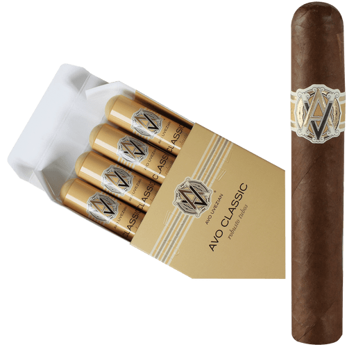 AVO Cigars Classic Robusto Tubos 4 Ct. Box 5.00X50