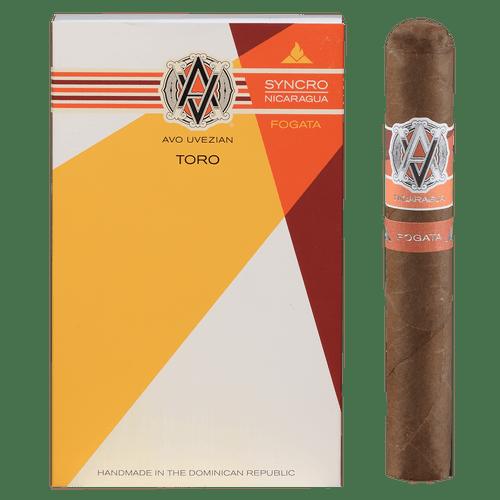 AVO Cigars Syncro Fogata 4 Ct. Pack