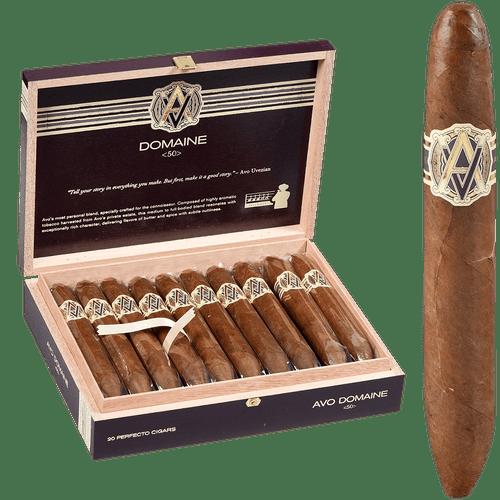 AVO Cigars Domaine <50> Perfecto 20 Ct. Box 5.75X54