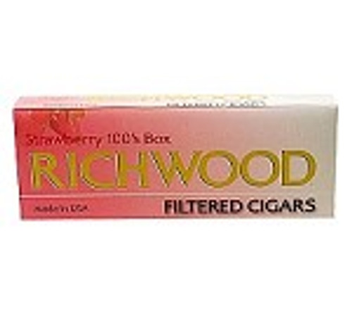 Richwood Filtered Cigars Strawberry