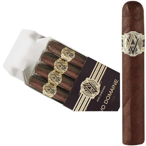 AVO Cigars Domaine <10> Robusto 4 Ct. Box 5.00X50
