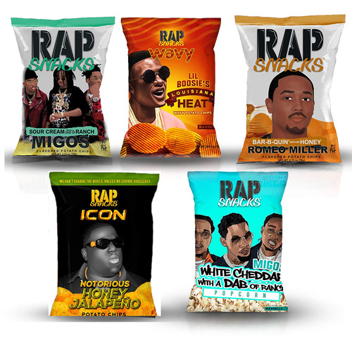 Rap Snacks Potato Chips (6 Pack)
