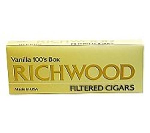 Richwood Filtered Cigars Vanilla
