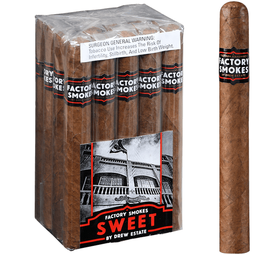 Factory Smokes Cigars Sweets Churchill 20 Ct. Bundle 7.00x52