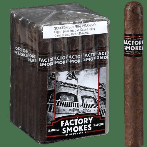 Factory Smokes Cigars Maduro Toro 25 Ct. Bundle 6.00x52