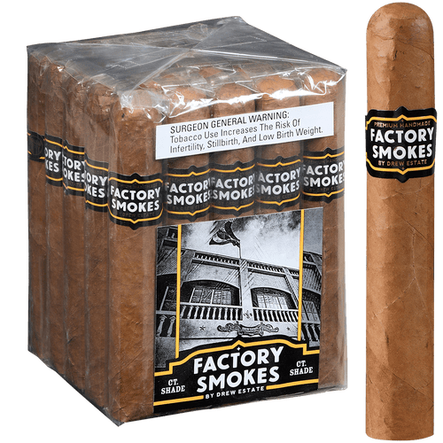Factory Smokes Cigars Shade Gordito 25 Ct. Bundle 6.00x60