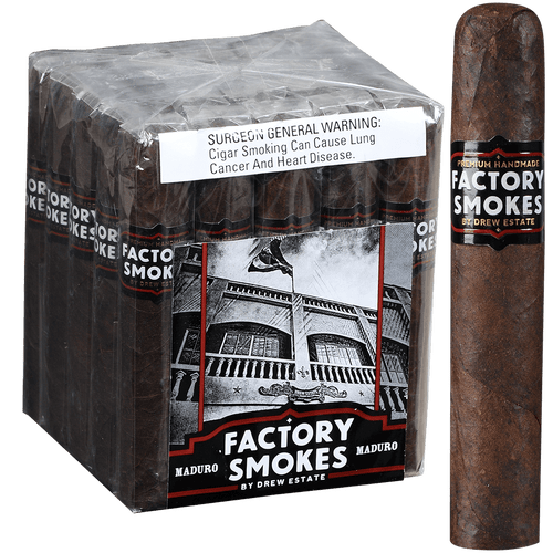 Factory Smokes Cigars Maduro Robusto 25 Ct. Bundle 5.00x54