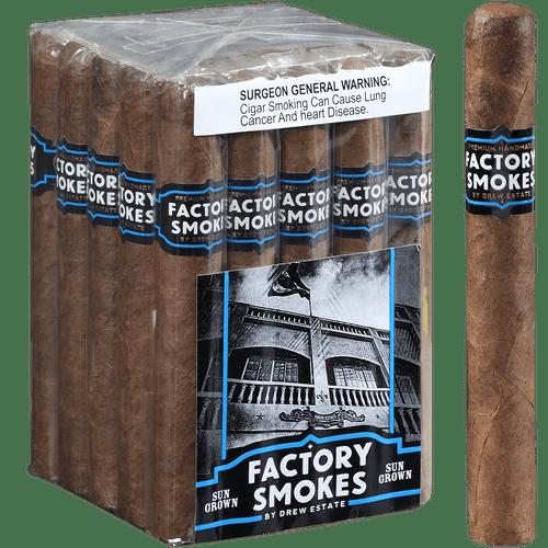Factory Smokes Cigars Sungrown Toro 25 Ct. Bundle 6.00x52
