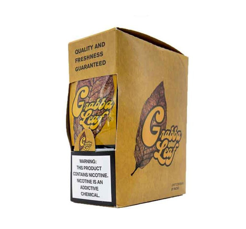 Grabba Leaf Yellow Cigar Wraps 25ct