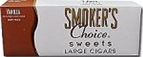 Smokers Choice Filtered Cigars Vanilla