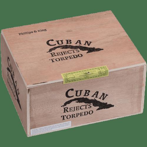 Cuban Rejects Cigars Torpedo Natural 50 Ct. Box
