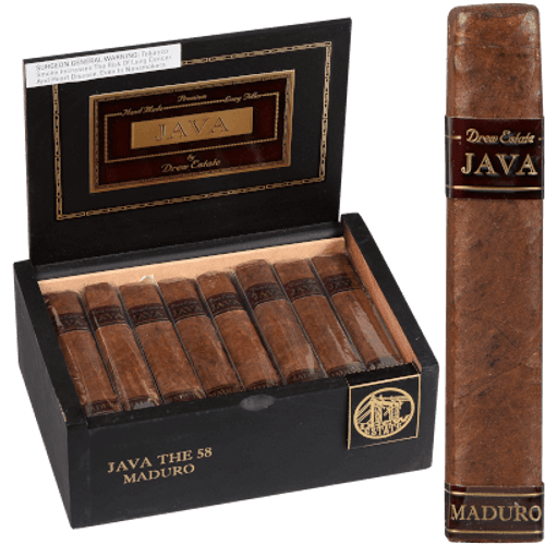 Java By Drew State Cigars Maduro The 58 24 Ct. Box