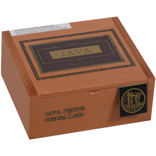 Java By Drew State Cigars Latte Petit Corona 40 Ct. Box