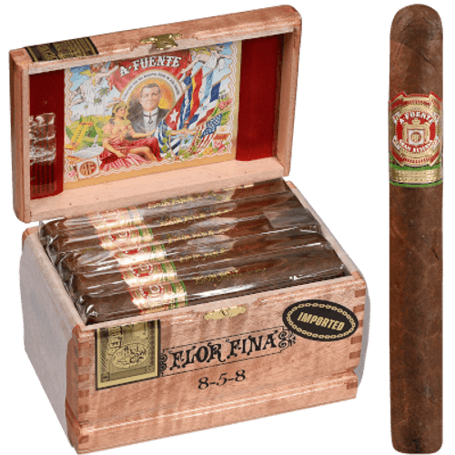 Arturo Fuente Cigars 8-5-8 Anniversary Natural Cabinet 25 Ct. Box