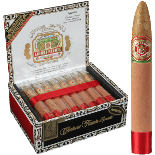 Arturo Fuente Cigars Chateau Fuente Pyramid Natural 25 Ct. Box