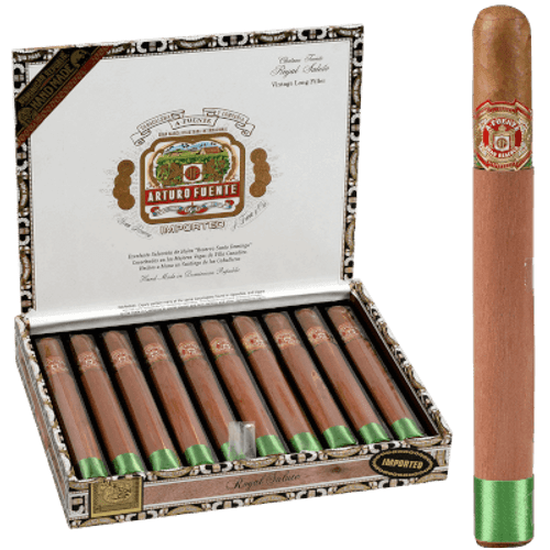 Arturo Fuente Cigars Royal Salute Natural 10 Ct. Box