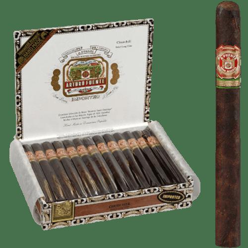Arturo Fuente Cigars Churchill Maduro 25 Ct. Box