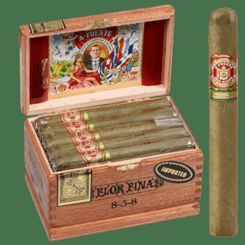 Arturo Fuente Cigars 8-5-8 Anniversary Claro Cabinet 25 Ct. Box