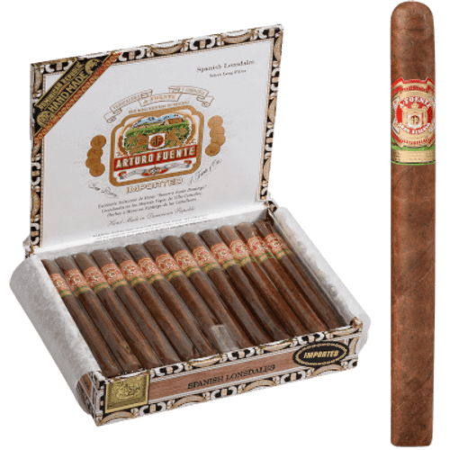 Arturo Fuente Cigars Spanish Lonsdale Natural 25 Ct. Box
