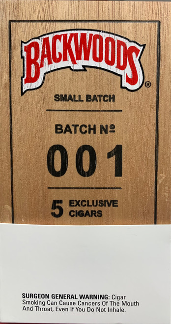 Backwoods Cigars Small Batch 001