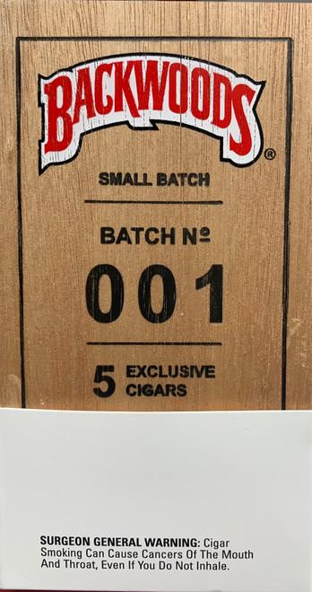 Backwoods Cigars Small Batch 001