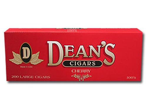 Deans Large Filtered Cigars 100's 10/20 Packs