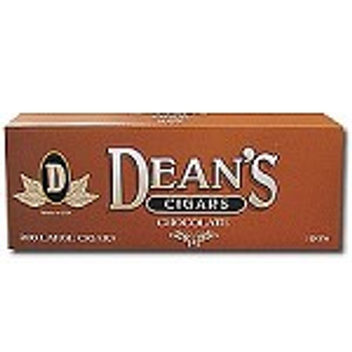Deans Large Filtered Cigars Chocolate