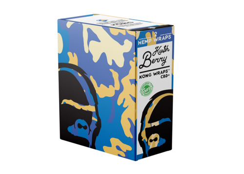 Kong Wraps Kush Berry 25ct