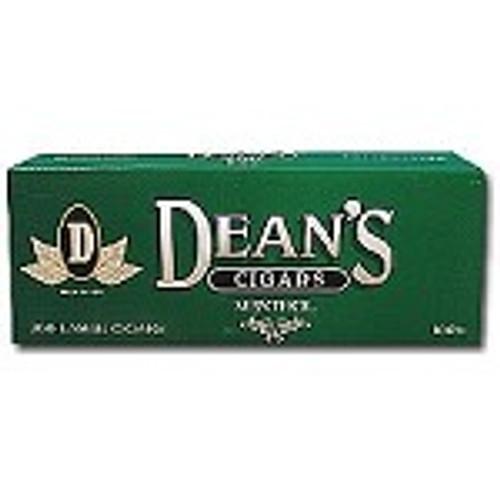 Deans Large Filtered Cigars Menthol