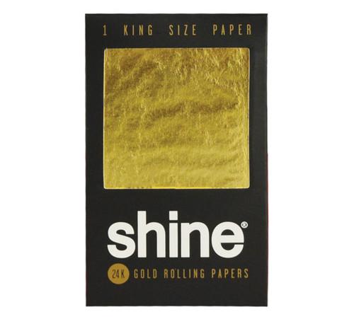 Shine 24K Gold Rolling Paper - 1 Paper Kingsize