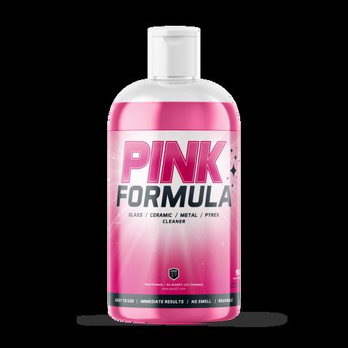 Pink Formula Clearner 16OZ Bottle Case (15 PC)
