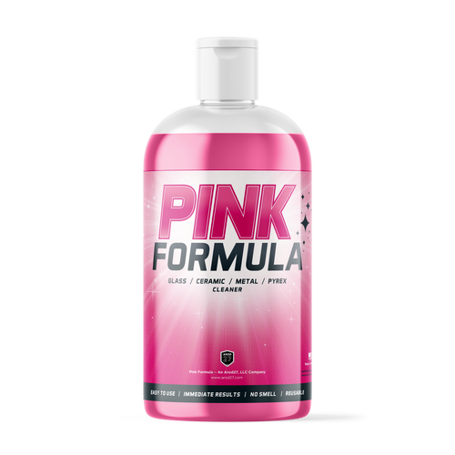 Pink Formula Clearner 160z Bottle