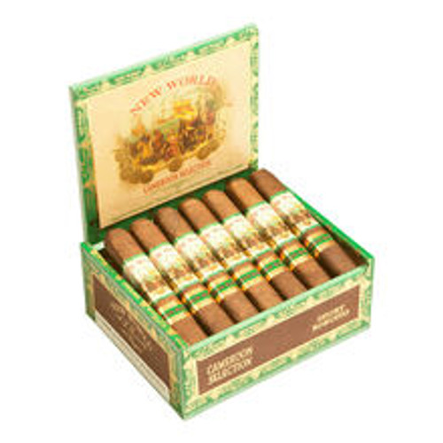 New World Cameroon by AJ Fernandez Cigars Short Robusto 20Ct. Box