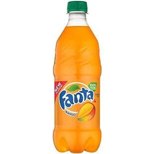 Fanta Exotic Pop Soda Flavors 20oz Bottles