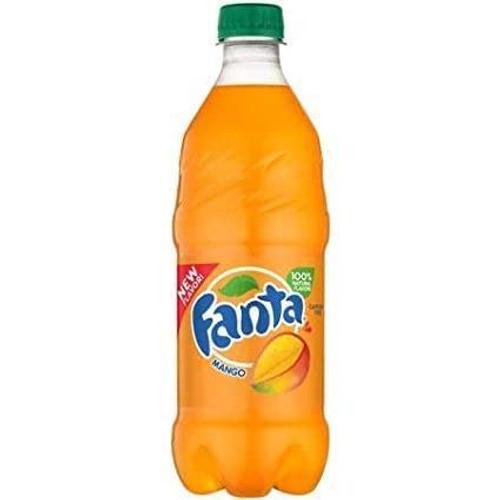 Fanta Exotic Pop Soda Flavors 20oz Bottles