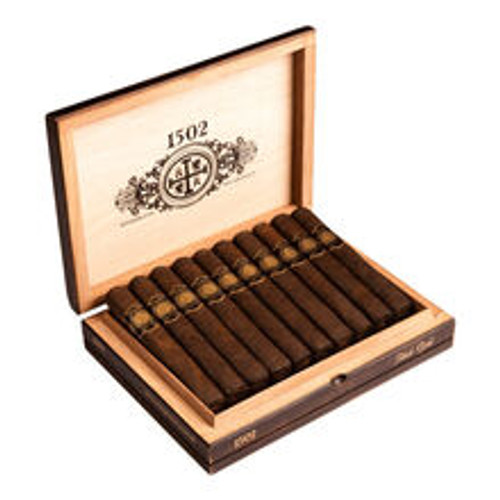 1502 Cigars Black Gold Torpedo Box Pressed 20Ct. Box