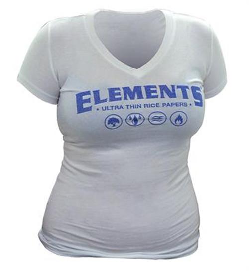 Elements White Ladies Promo Shirt