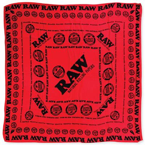 RAW Scarf Red