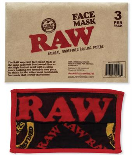 RAW Face Masck 3PK