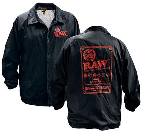 RAW Black Coachs Jacket