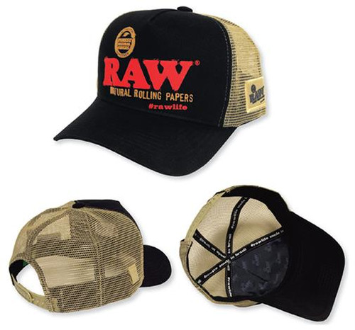 RAW Brazil Hat Black and Brown