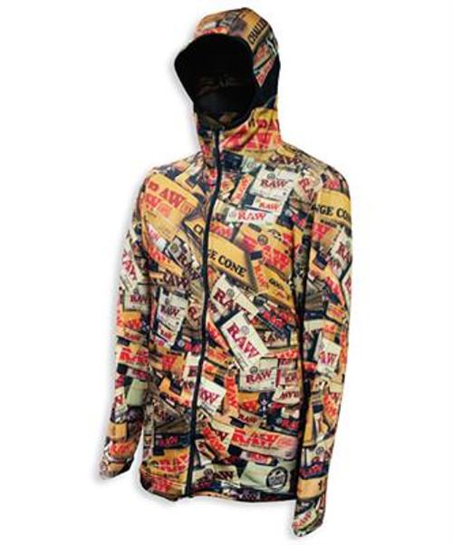 RAW Brazil Lightweight Zip Up Jacket