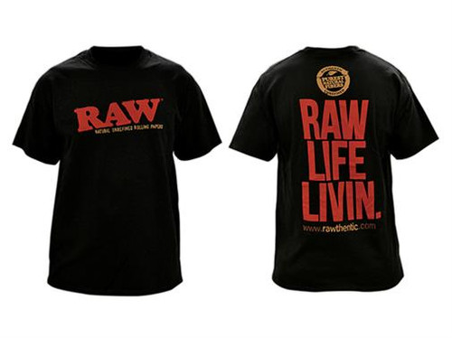 RAW Mens Black Shirt