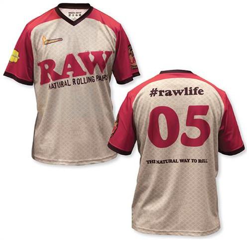 RAW Logo Soccer Jersey
