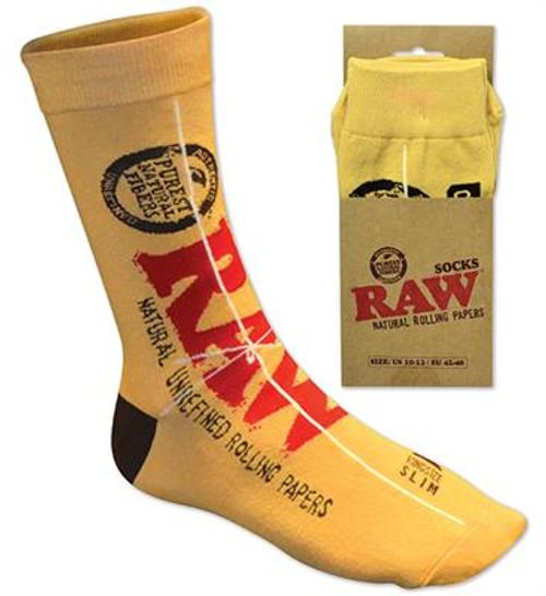 RAW Socks Yellow