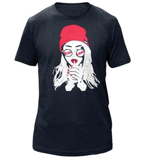 RAW Unisex Smoker Girl T-Shirt